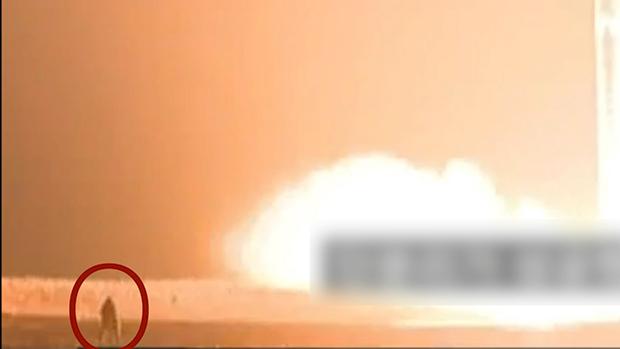火星15発射